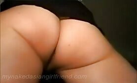 Eating my Chinese girlfriend sweet and wet shaved pussy