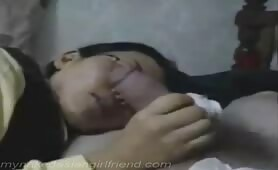 Smiling chinese teen girl luvs to suck my dick and get jazzed